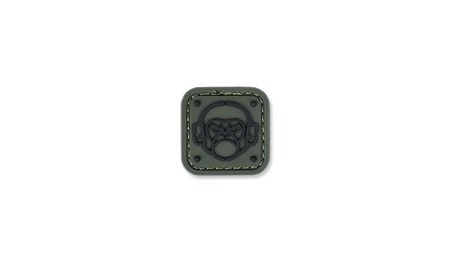 MIL-SPEC MONKEY - Morale Patch - Monkey Stencil - PVC - Forest