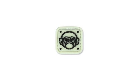 MIL-SPEC MONKEY - Morale Patch - Monkey Stencil - PVC - Green Glow