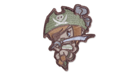 MIL-SPEC MONKEY - Morale Patch - Pirate Girl - Arid