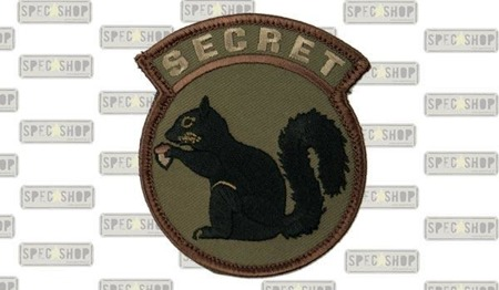 MIL-SPEC MONKEY - Morale Patch - Secret Squirrel - Forest