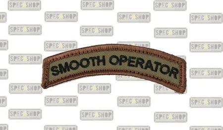 MIL-SPEC MONKEY - Morale Patch - Smooth Operator - Forest