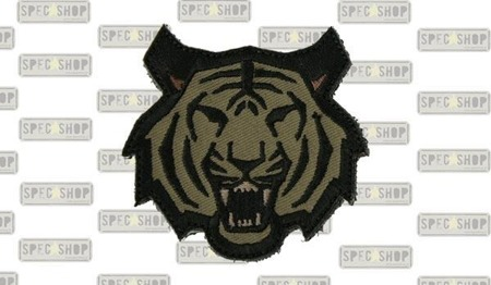 MIL-SPEC MONKEY - Morale Patch - Tiger Head - Forest