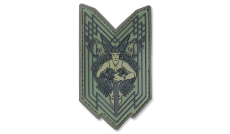MIL-SPEC MONKEY - Morale Patch - Walkure - PVC - Forest
