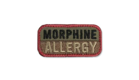 MIL-SPEC MONKEY - Morphine Allergy - Forest