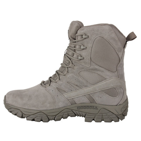 "Merrell - Buty wojskowe Moab 2 8"" Tactical Defense Boot - Sage Green - J17775"