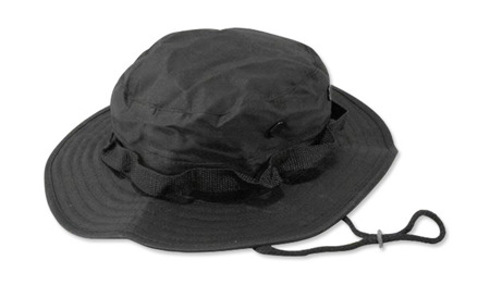Mil-Tec - Kapelusz Jungle Hat - Czarny - 12327002