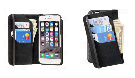 Nite Ize - Etui Connect Wallet & Case - iPhone 6/6s - FCNTI6-01-R8
