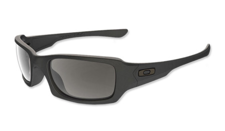 Oakley - SI Fives Squared Matte Black - Grey Polarized - OO9238-11