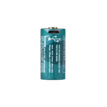Olight - Akumulator Li-ion z portem USB - RCR123A / 16340 3,7V 650 mAh - 163CO6