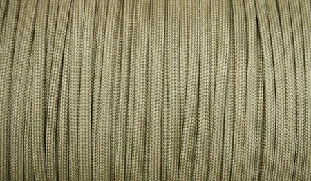 Paracord - MIL-SPEC 550-7 - 4 mm - Coyote Brown - Szpula 304,8m