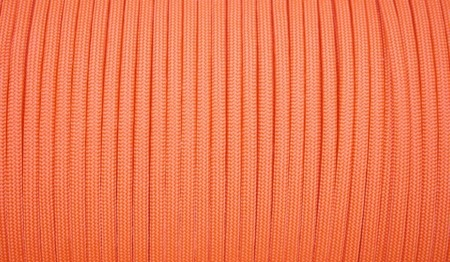 Paracord - MIL-SPEC 550-7 - 4 mm - Neon Orange - 1 metr
