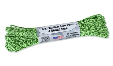 Atwood Rope MFG - Tactical Cord 3/32 - 2,2 mm - Green Spec - 30,48m